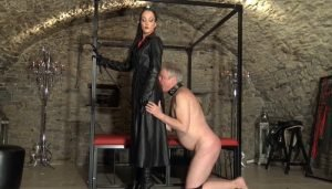 Dungeon Femdom, The Price of Leather Worship part 1 with Fetish Liza