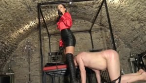 Dungeon Femdom, The Price of Leather Worship part 2 with Fetish Liza