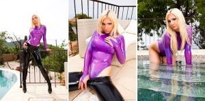 Getting Wet Rubber Girl – Photoset