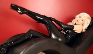Latex and Ballet Heels part 1