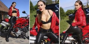 Biker Girl Wants Your Cum – Photoset