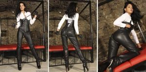 Sexy Coco in Leather Zipper Pants – Photoset