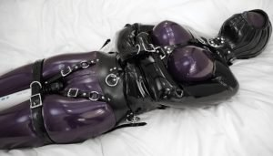 Vespa – Relax Already in Purple & Pink Latex