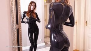 In Shiny Latex Everything is Much Hornier part 1!