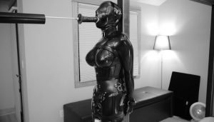 It Swallows in Black Latex