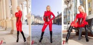 Karlovy Vary Latex Girl – Photoset