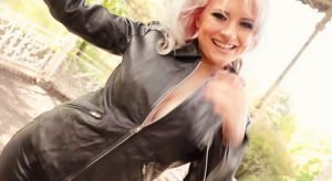 Leather Girl Lara Larsen part 1