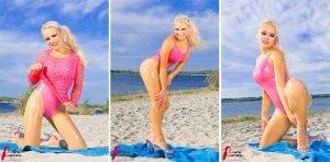 RubberDoll at Beach – Photoset