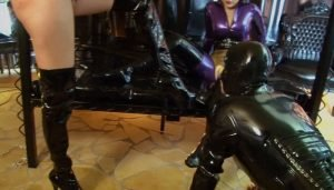 Bizarr Lady Alice & Lady Blackdiamoond – Condom Rubber Slut