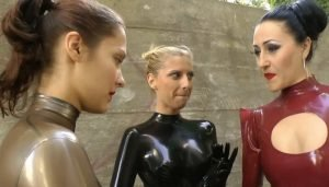 Two Brats in Hot Latex Outfits Wicked Girls