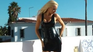 Black Shiny Latex Fantasy Part 1