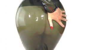 Green Military Transparent Latex Part 2