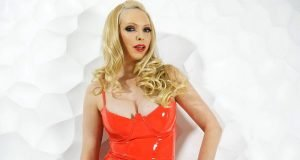 Red Latex Dress is the Color